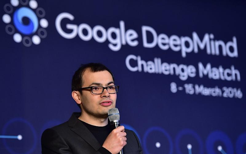 Demis Hassabis, the head of DeepMind which has already shown it can defeat the world's best Go champions - This content is subject to copyright.