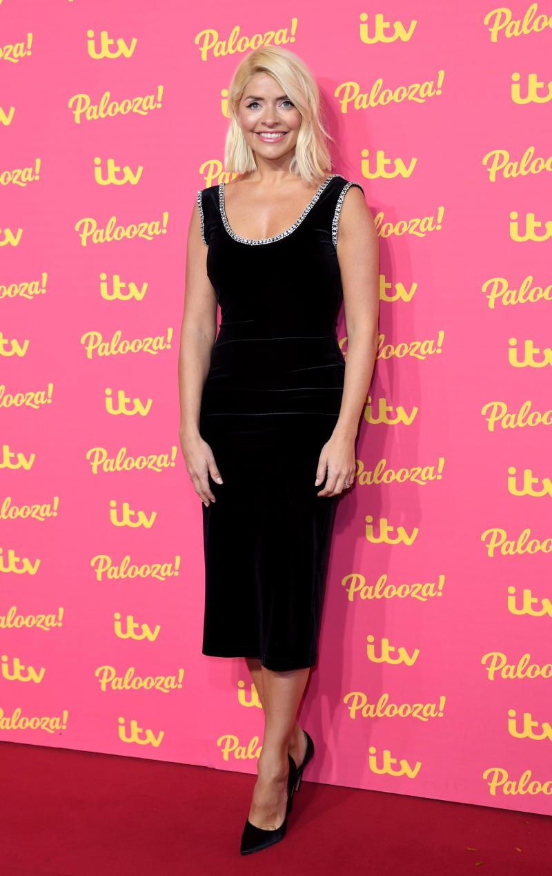 Holly Willoughby attends the ITV Palooza 2019 at The Royal Festival Hall. [Photo: Getty]