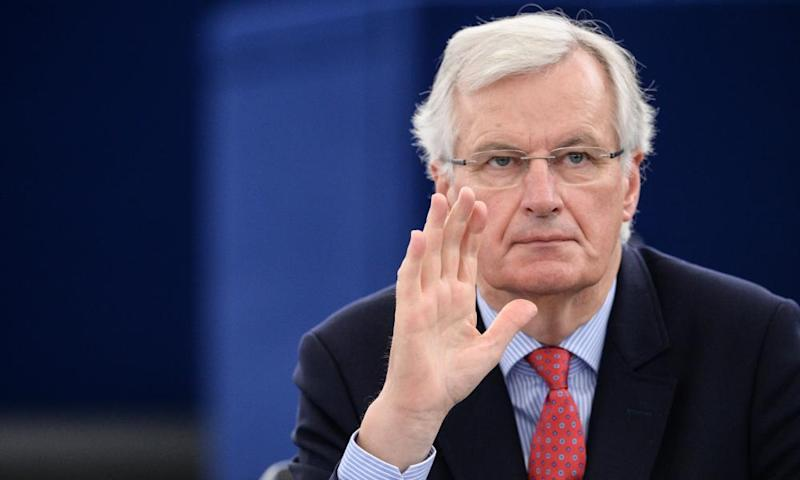 Michel Barnier, EU's chief Brexit negotiator