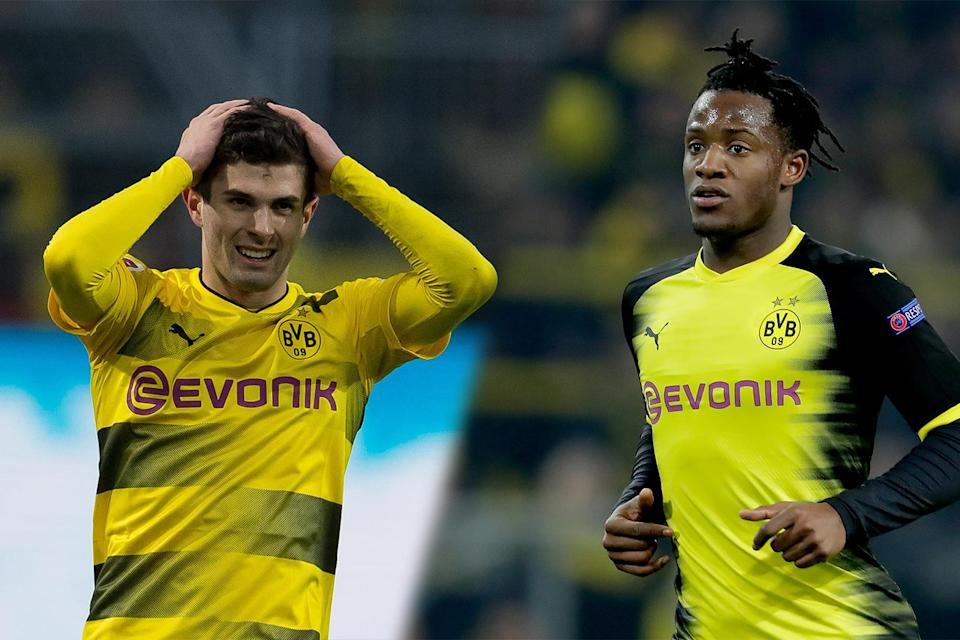Transfer key? Michy Batshuayi could give Chelsea the edge in the chase for Christian Pulisic, according to reports