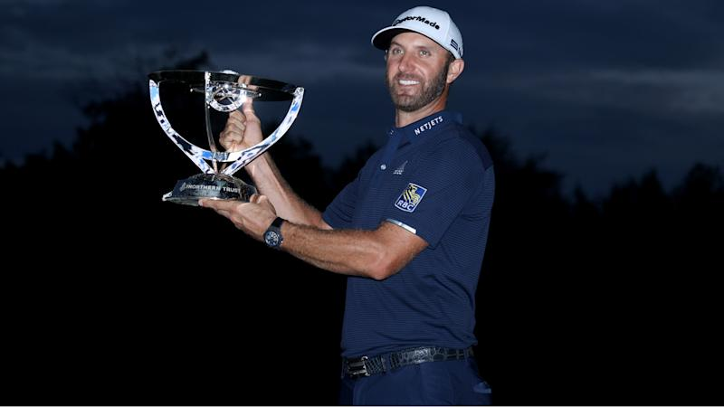 Johnson dominates to win Northern Trust by 11 strokes