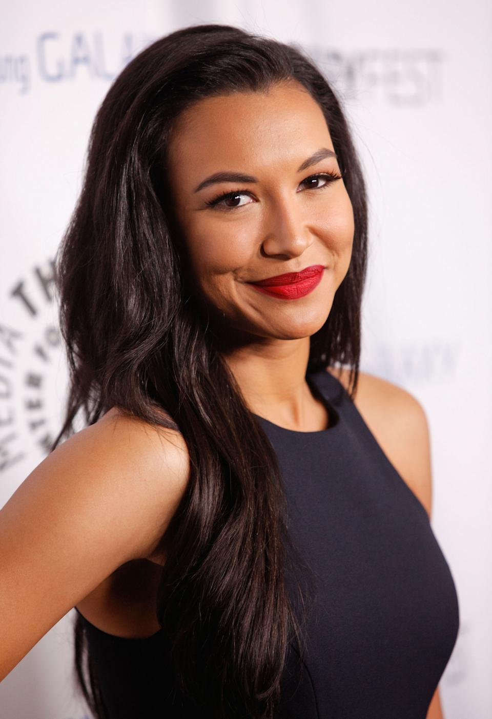 Naya may have been best known as Santana Lopez in Glee, but she also featured in film roles including Mad Families and At The Devil's Door. Photo: Getty