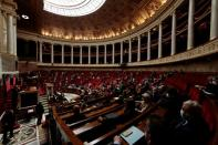 The questions to the government session at the National Assembly in Paris