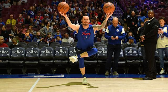 J.J. Redick has one of the most meticulous routines in the NBA. (Photo by Jesse D. Garrabrant/NBAE via Getty Images)