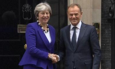 No Brexit progress without Irish border solution — EU's Tusk