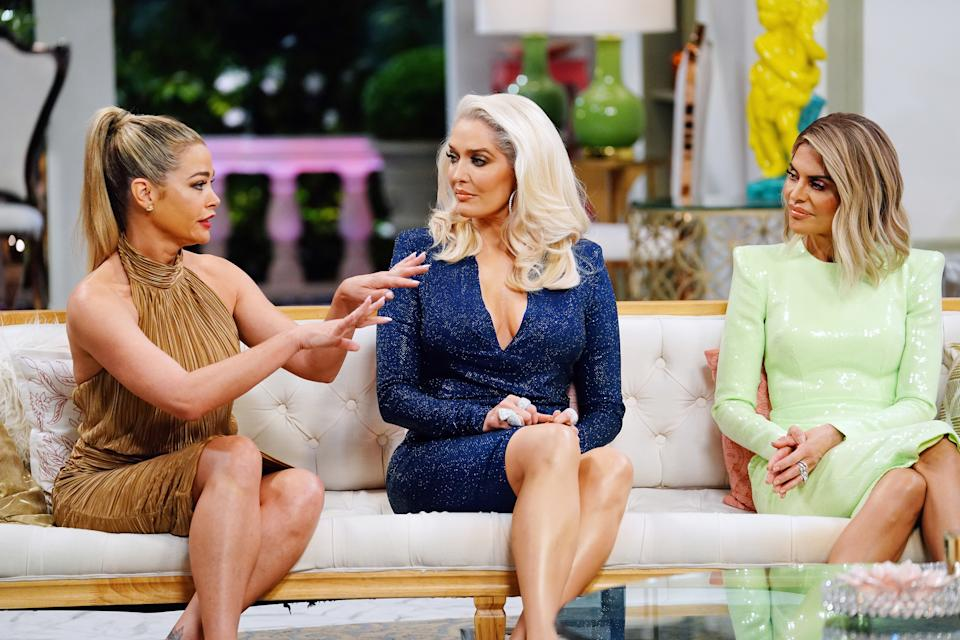 """Richards on the """"Real Housewives of Beverly Hills"""" reunion finale (Photo by: Nicole Weingart/Bravo/NBCU Photo Bank)"""