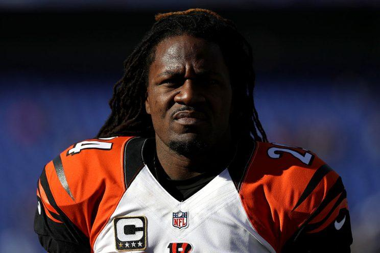Pacman Jones, not a fan of Terrelle Pryor. (Getty)