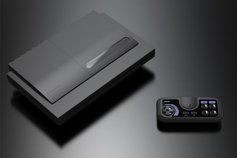 Analogue Duo with game pad