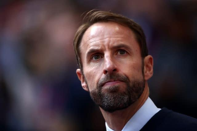 Gareth Southgate fears there may be more racist incidents in Bulgaria next month (Tim Goode/PA)