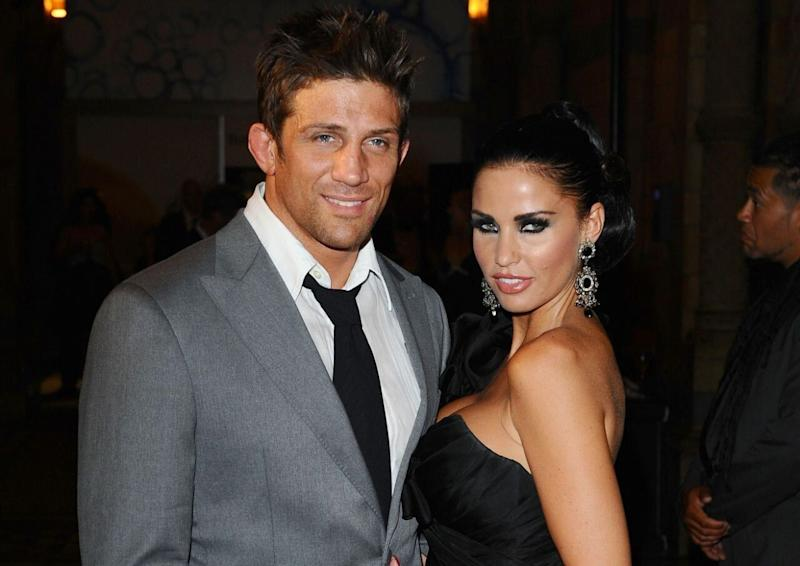 Alex Reid with ex-wife Katie Price (PA Images)