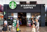 "<p>While it might seem like any regular Starbucks restaurant, this particular establishment is located inside <a href=""https://www.cia.gov/news-information/blog/2019/ask-molly-may-2-2019.html"" rel=""nofollow noopener"" target=""_blank"" data-ylk=""slk:CIA's headquarters"" class=""link rapid-noclick-resp"">CIA's headquarters</a>. While it may seem like any regular Starbucks, the main difference is that no names are written on the cups. While it's unclear if orders are often mixed up, we believe for the CIA this is good move.</p>"