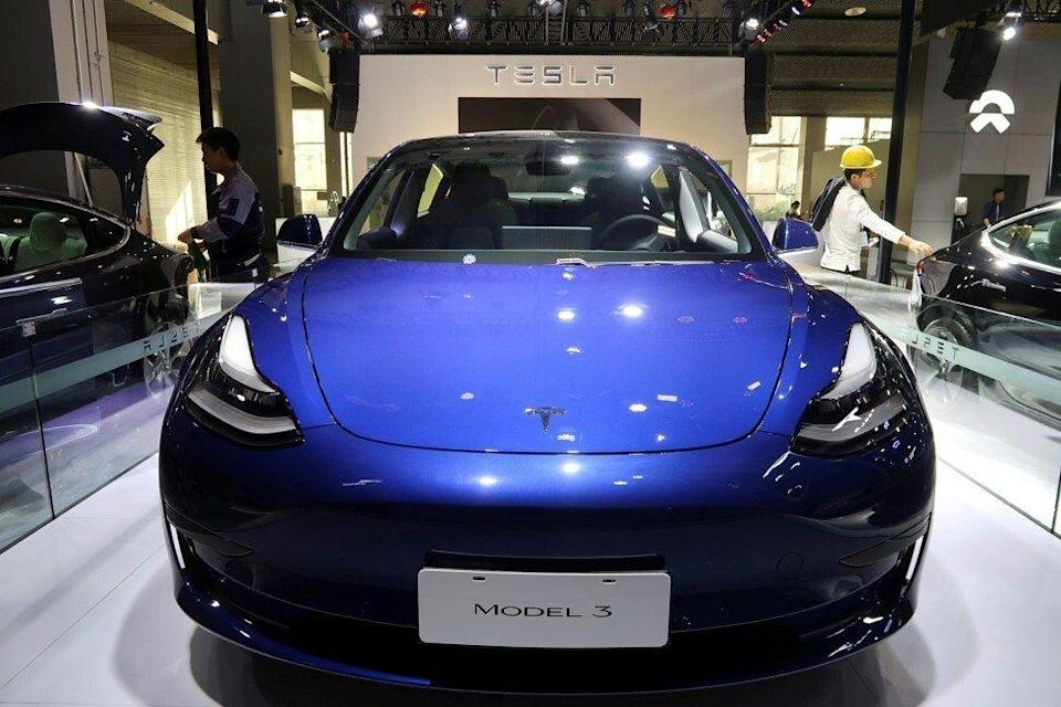 Bitcoin's market capitalisation has already surpassed that of Tesla, which earlier this month said it plans to accept bitcoin for its swanky vehicles. Photo: Reuters