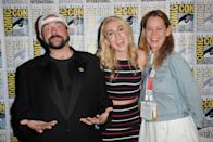 """<p><strong>Famous parent(s)</strong>: filmmaker Kevin Smith and actress/broadcaster Jennifer Schwalbach Smith<br><strong>What it was like</strong>: """"I'm constantly working hard and pushing myself out of my comfort zone to prove that I can and will work just as diligently as anyone else,"""" she's <a href=""""https://www.vanityfair.com/hollywood/2016/09/harley-quinn-smith-yoga-hosers"""" rel=""""nofollow noopener"""" target=""""_blank"""" data-ylk=""""slk:said"""" class=""""link rapid-noclick-resp"""">said</a>. """"I grind twice as hard because my dad is a director and I need to show everybody that I can act and that even though I got here through him, I intend on staying put.""""</p>"""