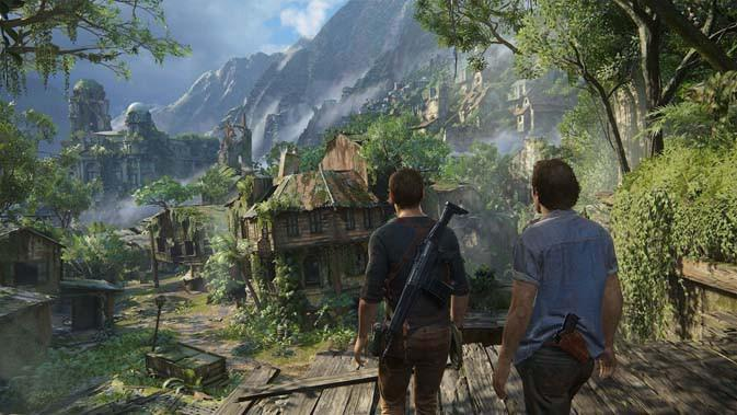 Uncharted 4: A Thief's End. (Doc: USGamer)