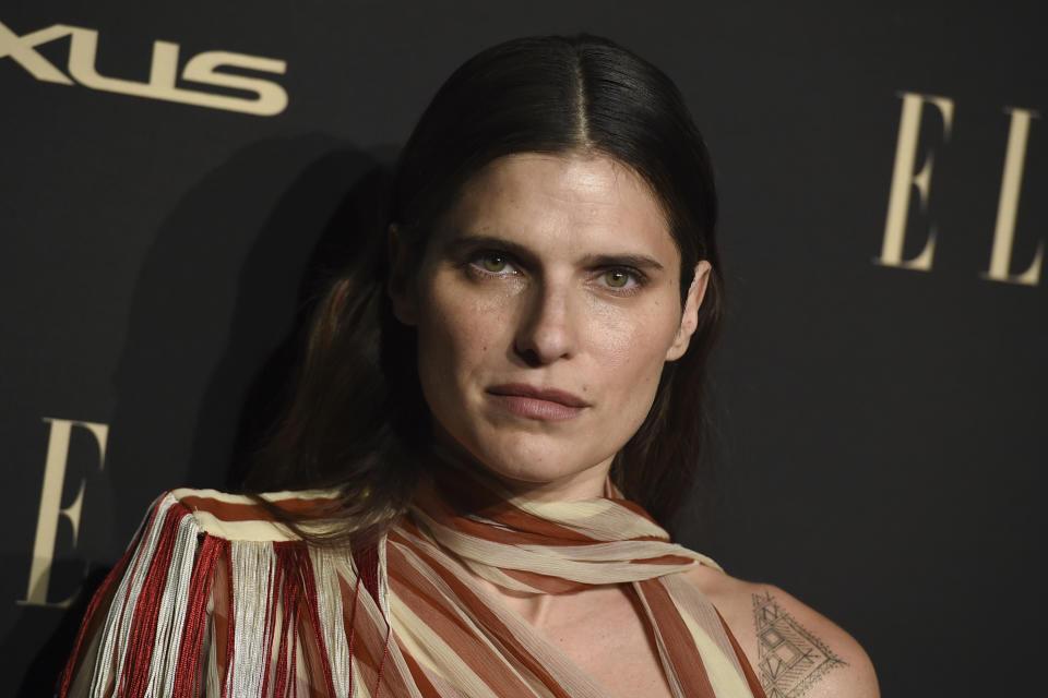 Lake Bell arrives at the 26th annual ELLE Women in Hollywood Celebration at the Four Seasons Hotel on Monday, Oct. 14, 2019, in Los Angeles. (Photo by Jordan Strauss/Invision/AP)