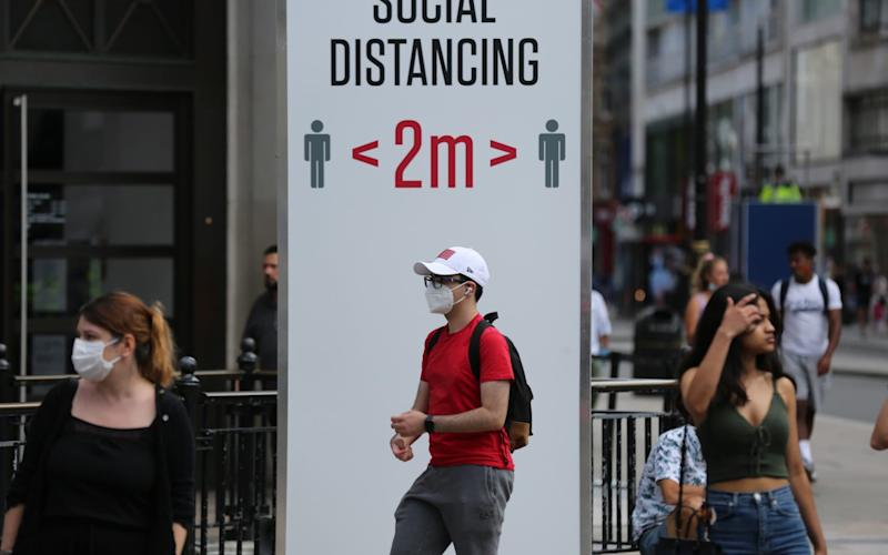 Could the two metre rule be reduced? - Ilyas Tayfun Salci/Anadolu Agency via Getty Images/Ilyas Tayfun Salci/Anadolu Agency via Getty Images