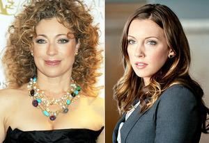 Alex Kingston, Katie Cassidy | Photo Credits: Dave M. Benett/Getty Images, Cate Cameron/The CW