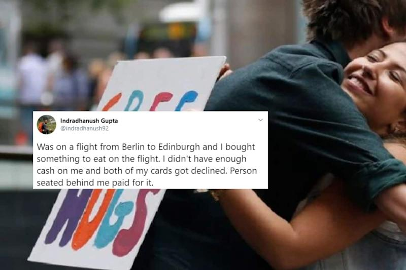This Twitter Thread About Random Acts of Kindness by Strangers is the Warm Hug We All Needed
