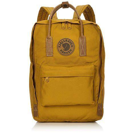 """<p><strong>Fjallraven</strong></p><p>amazon.com</p><p><strong>$138.77</strong></p><p><a href=""""https://www.amazon.com/dp/B07D4LGRLB?tag=syn-yahoo-20&ascsubtag=%5Bartid%7C10055.g.28414150%5Bsrc%7Cyahoo-us"""" rel=""""nofollow noopener"""" target=""""_blank"""" data-ylk=""""slk:Shop Now"""" class=""""link rapid-noclick-resp"""">Shop Now</a></p><p>This looks like the classic Fjallraven backpack, but it has a separate, padded compartment big enough to fit a 15"""" laptop. It comes in seven colors. </p>"""
