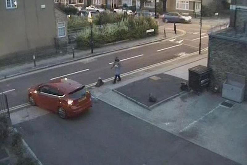 Huge reward: Police are also looking to speak to anyone who may have been in this car (Met Police)