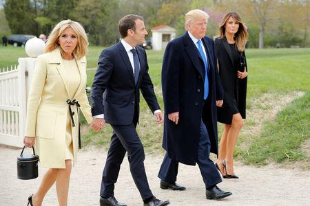 France's Macron visits Trump as Iran nuclear deal hangs in balance on