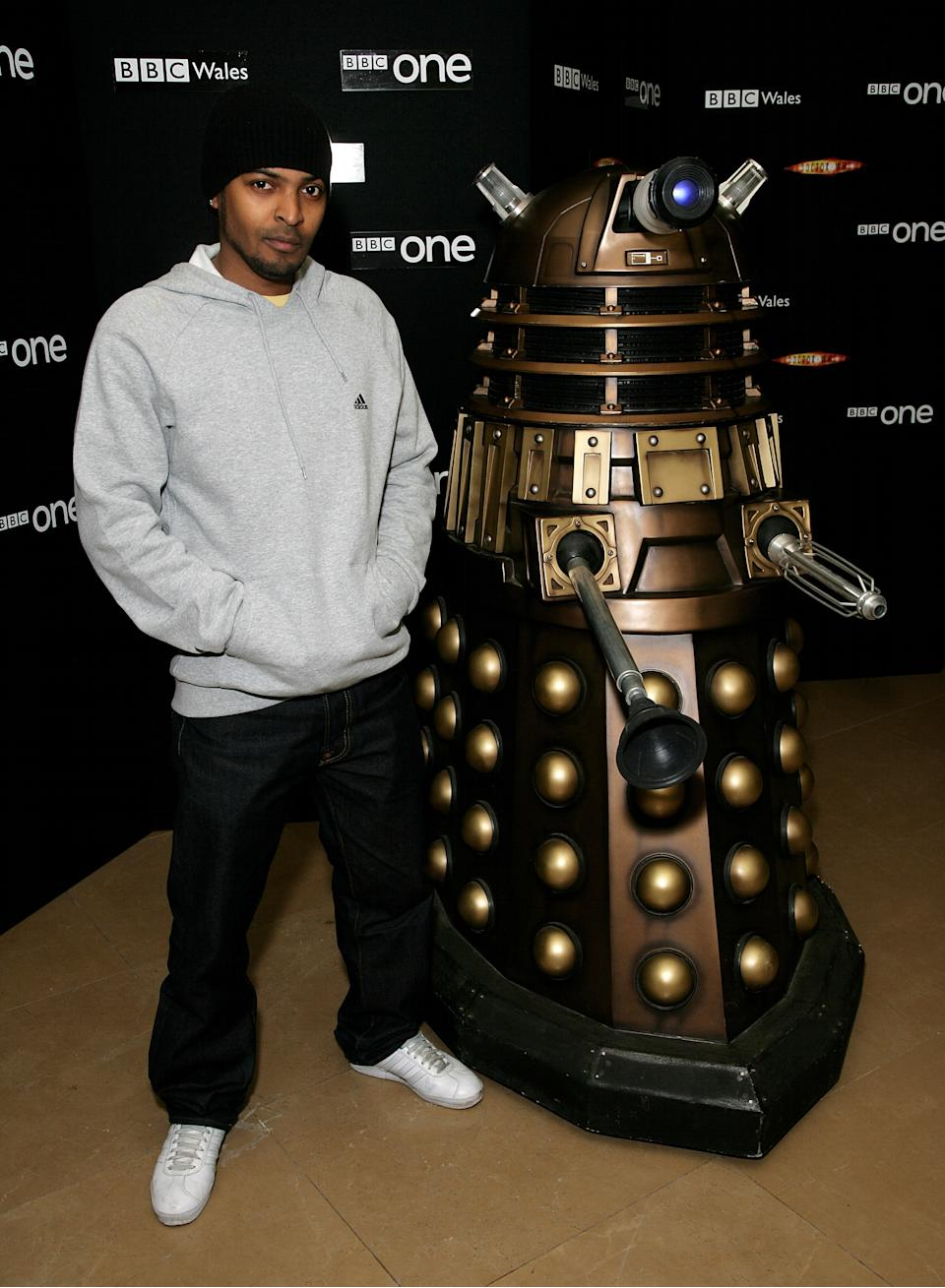 LONDON - MARCH 21: Actor Noel Clarke attends a gala screening of 'Doctor Who' to promote the third series of the television science fiction drama at the Mayfair Hotel on March 21, 2007 in London, England. (Photo by Dave Hogan/Getty Images)