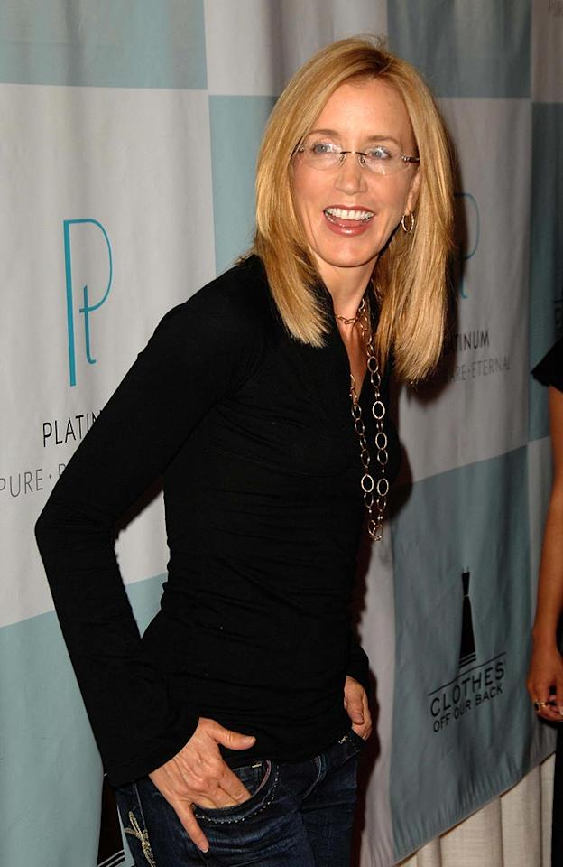 "Felicity Huffman looks rather sexy in her specs. <a href=""http://www.infdaily.com"" target=""new"">INFDaily.com</a> - September 12, 2007"