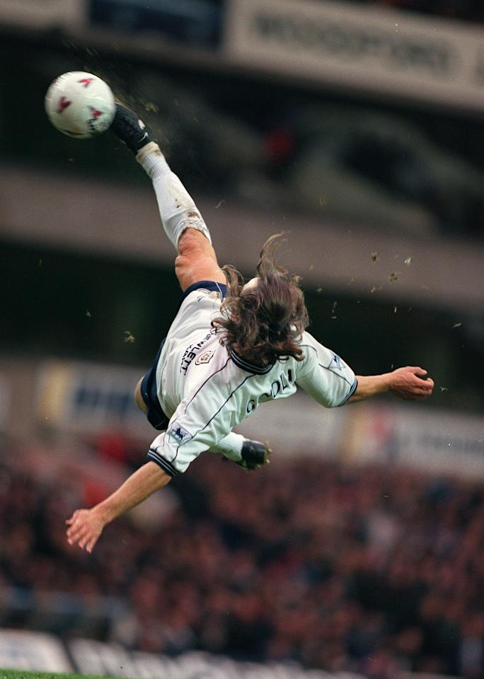 French maestro David Ginola wows the crowd at White Hart Lane - Mark Leech (Offside Sports Photography)