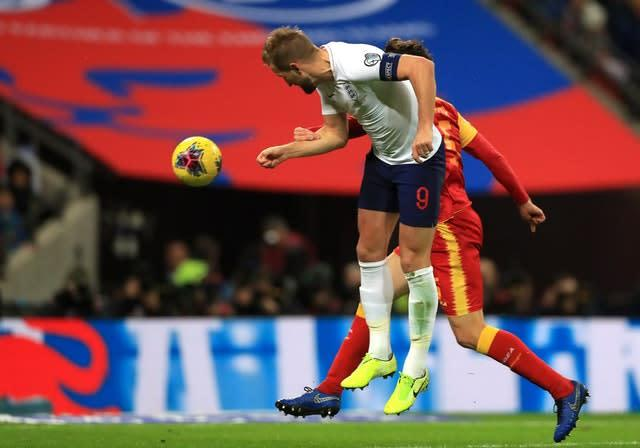 Kane was in irresistible form in front of goal (Mike Egerton/PA)