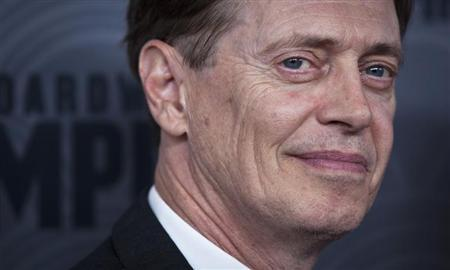 "Steve Buscemi arrives for premiere of HBO's television series ""Boardwalk Empire"" Season 4 in New York"