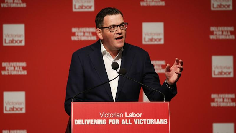Victorian Premier Daniel Andrews is not commenting on police action involving the Labor party