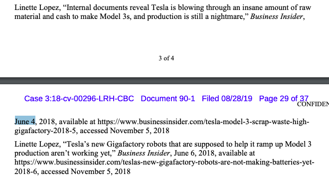 Source: Tesla court filing