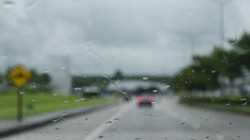 Driving in a storm