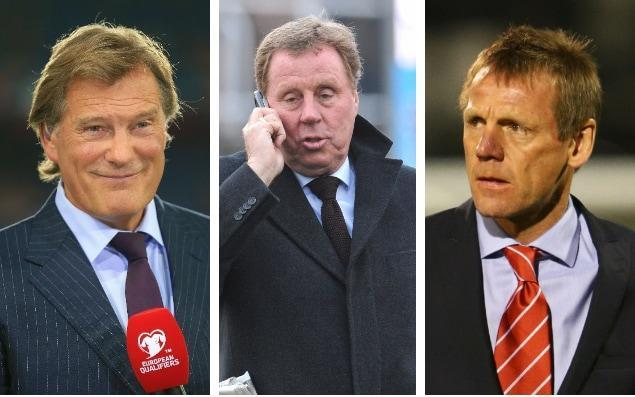 Glenn Hoddle, Harry Redknapp and Stuart Pearce were all linked with the England role