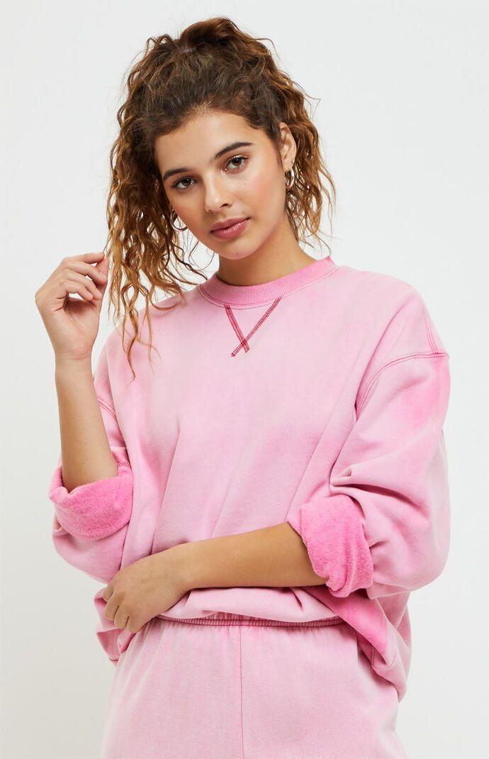 """<p><strong>LA Hearts</strong></p><p>pacsun.com</p><p><strong>$25.86</strong></p><p><a href=""""https://go.redirectingat.com?id=74968X1596630&url=https%3A%2F%2Fwww.pacsun.com%2Fla-hearts%2Fhailey-vintage-pullover-sweatshirt-0751484260041.html&sref=https%3A%2F%2Fwww.seventeen.com%2Ffashion%2Fg32730536%2Fbest-sweaters-for-women%2F"""" rel=""""nofollow noopener"""" target=""""_blank"""" data-ylk=""""slk:Shop Now"""" class=""""link rapid-noclick-resp"""">Shop Now</a></p><p>A crewneck in a vintage pink will make for a killer 'fit. Add the matching sweatpants and Converse for a comfy but cute look.</p>"""