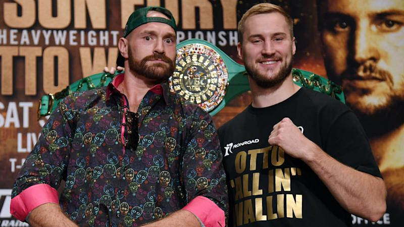 Fury: I've trained as hard as ever for Wallin