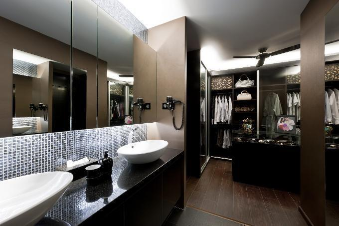 13 hdb flats with walk in wardrobes Hdb master bedroom toilet design
