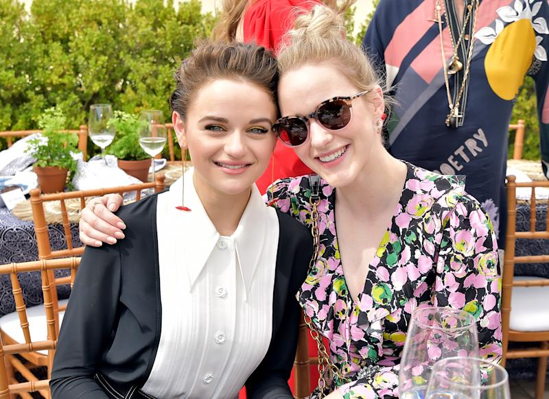 Joey King and Rachel Brosnahan attend the Glamour x Tory Burch Women To Watch Lunch.