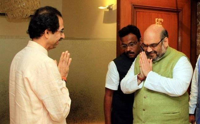 Amid Gaikwad no fly row, Amit Shah calls Uddhav Thackeray, invites him for NDA meet