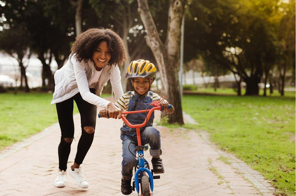 """<span class=""""caption"""">Literacy is much like learning to ride a bike: young kids can only advance to """"tricks"""" when they learn how to balance a number of other complex and inter-related activities</span> <span class=""""attribution""""><span class=""""source"""">(Shutterstock)</span></span>"""