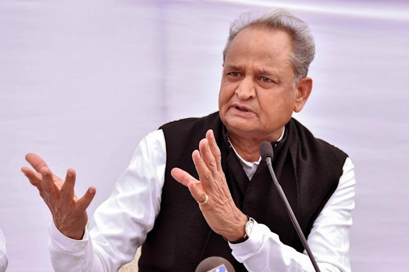 Rajasthan CM Ashok Gehlot Appeals for Calm as Violent Protests Continue