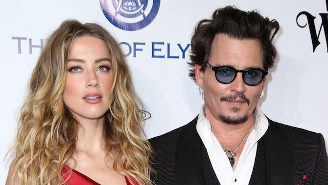 Amber Heard y Johnny Depp en una de sus últimas apariciones juntos, en junio de 2016. (Imagen: Rich Fury - AP Photo / Gtres)