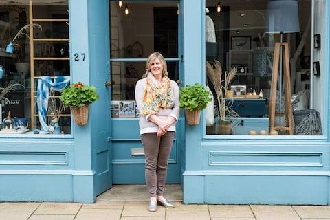 Heidi Green outside her shop, Marehalm - Credit: STUART NICOL PHOTOGRAPHY/Stuart Nicol