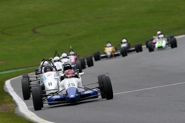 Nick Tandy and team-mates win the IndyKa 500