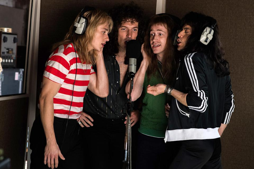 Bohemian Rhapsody shows Queen crafting their iconic hits (20th Century Fox)