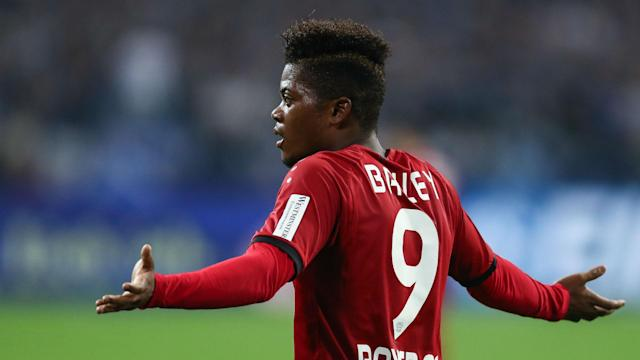 The Bayer Leverkusen winger was born in Jamaica, but has been linked with the Three Lions having never played senior football for his home country