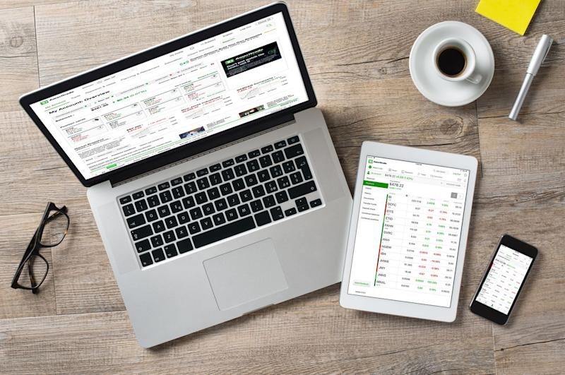 TD Ameritrade apps and web site