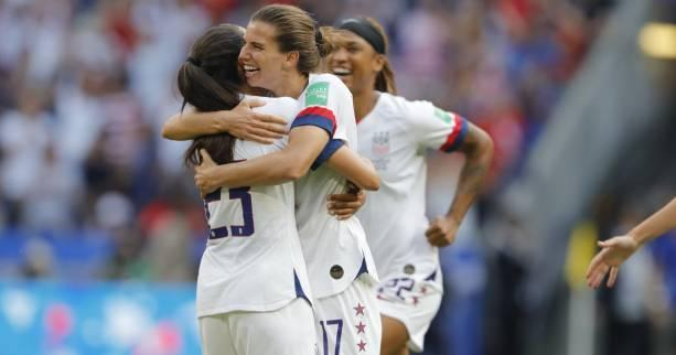 Foot - Transferts (F) - Transferts (F) : les Américaines Tobin Heath et Christen Press vers Manchester United ?