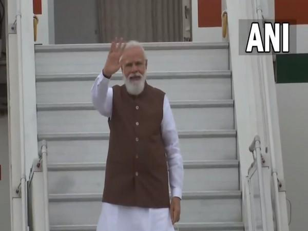 Prime Minister Narendra Modi departs for three-day visit to the US.