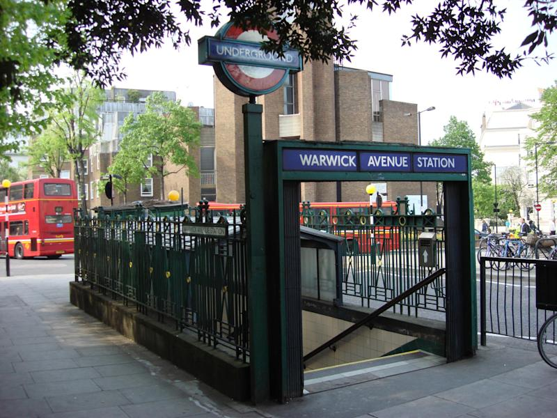 Warwick Avenue tube station, where the assault occured: Wikimedia Commons